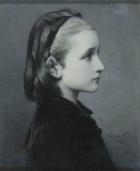 Head of a Girl, Célestin Joseph Blanc, 1867