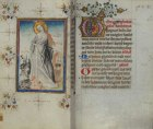 Illustrated book of hours, Dutch, 15th century